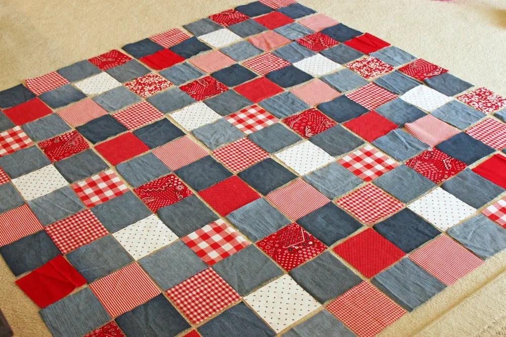 36 Denim Or Jean Quilt Patterns Guide Patterns