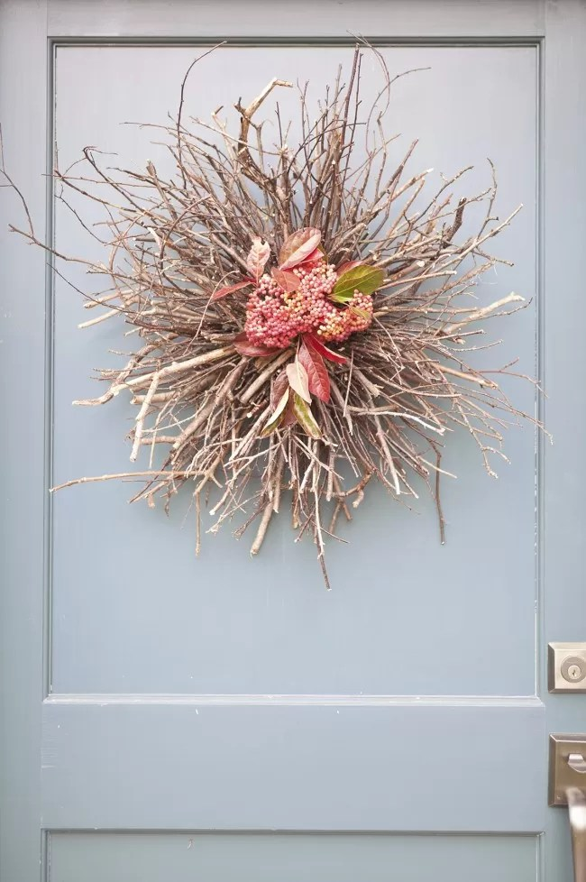 36 DIYs And Ideas On Making A Twig Wreath Guide Patterns