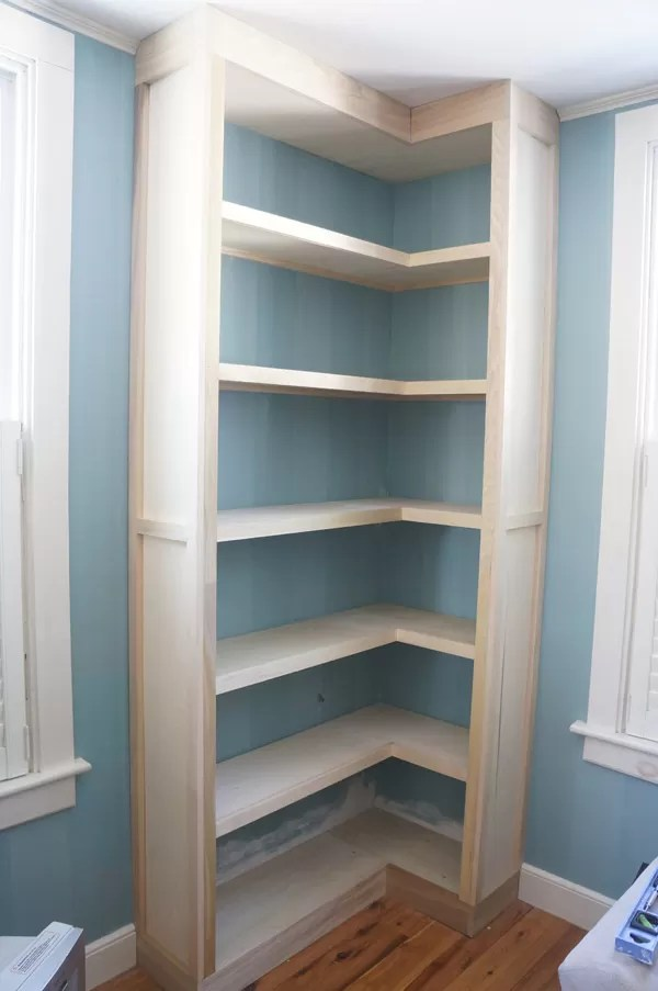 And Wood Metal Bookcase