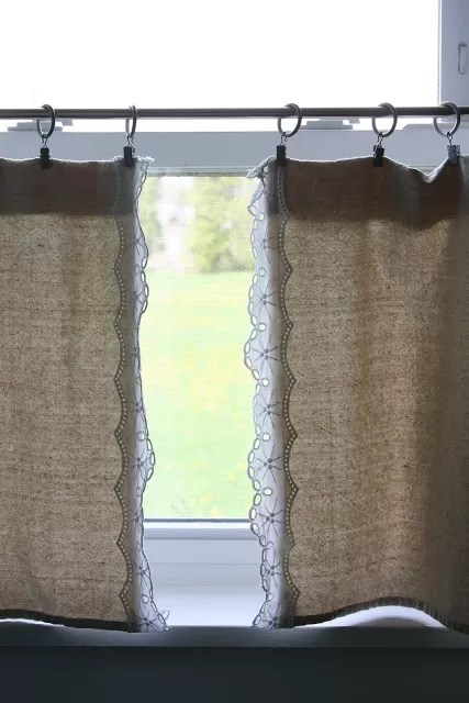 20 DIY Drop Cloth Curtains For You To Make Guide Patterns