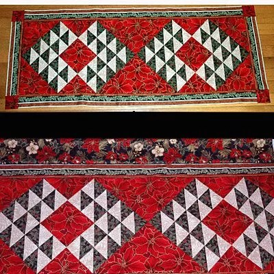 33 Free Patterns For Making A Christmas Table Runner
