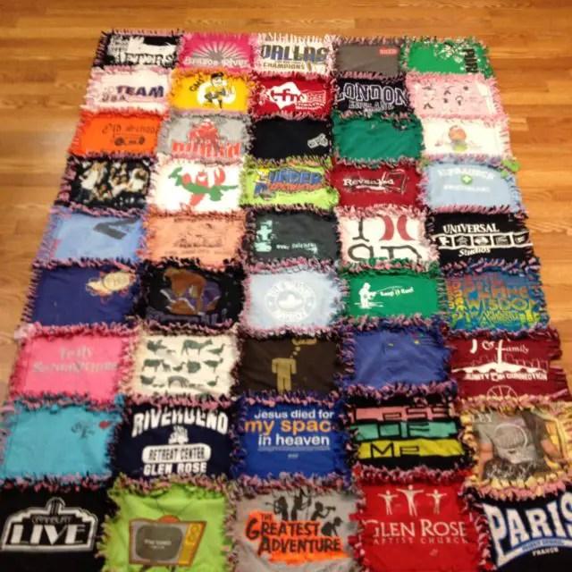 T Shirt Rag Quilt