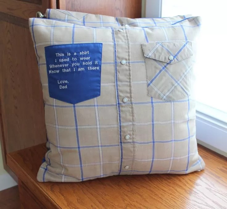 how to make a memory shirt pillow 19