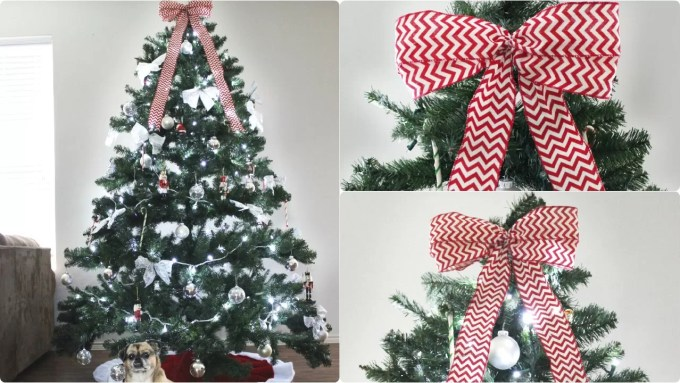 13 ways to make a christmas tree bow topper guide patterns