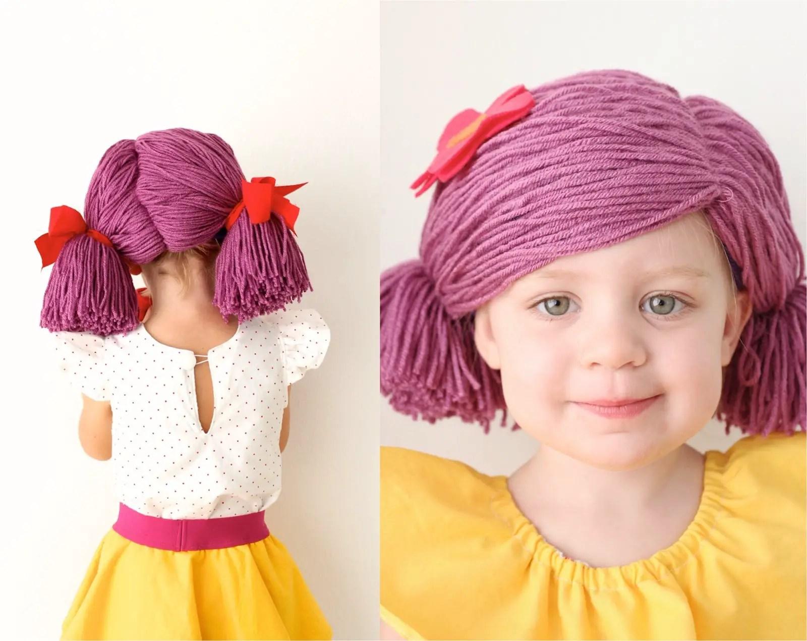 20 Ways To Make A Yarn Wig