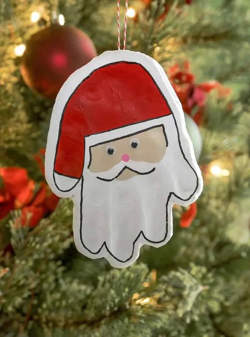 24 Ways Of Making Santa Handprints Guide Patterns