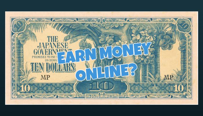 Earn Money Online Singapore