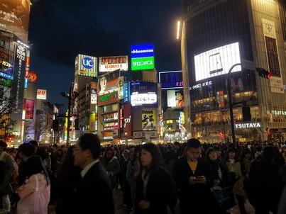 shibuya crossing 1