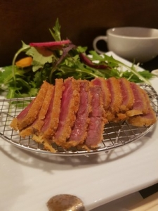 fried beef slice