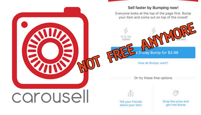 Carousell Bump Feature