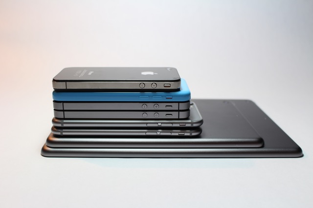 Pile of Phones and Tablets