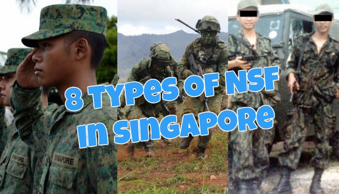 Army Singapore National Service NSF