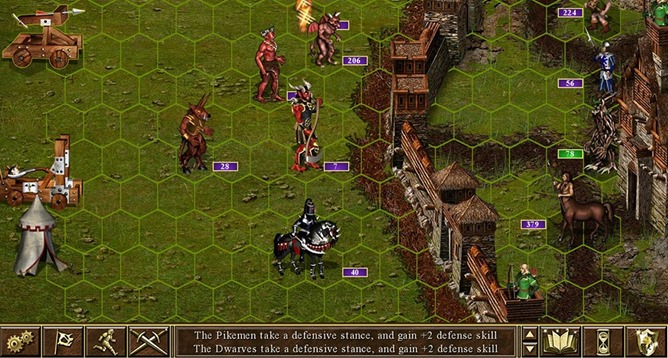 Old Games Heroes of Might and Magic on Android