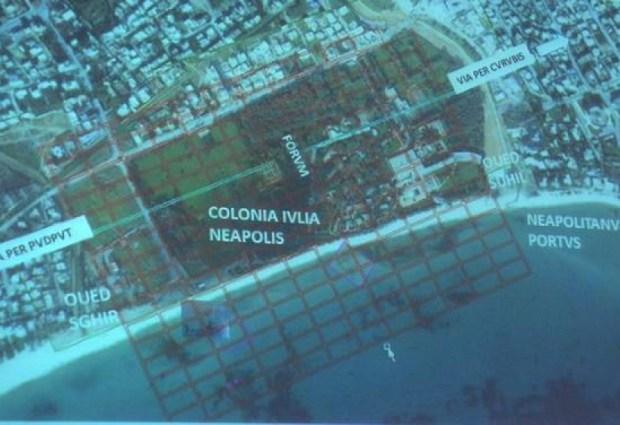 Scoperta città sommersa di epoca romana in Tunisia