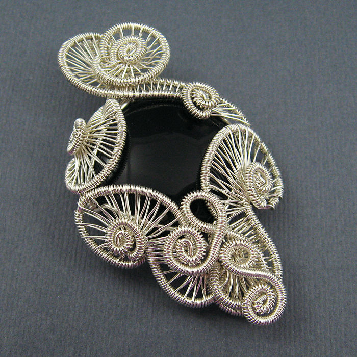 Free Wire Jewelry Tutorials Carnival Pendant Wire