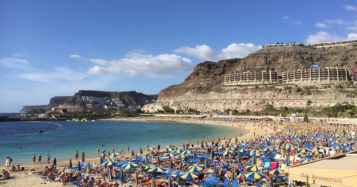 Gran Canaria Weather In November How Warm Is It