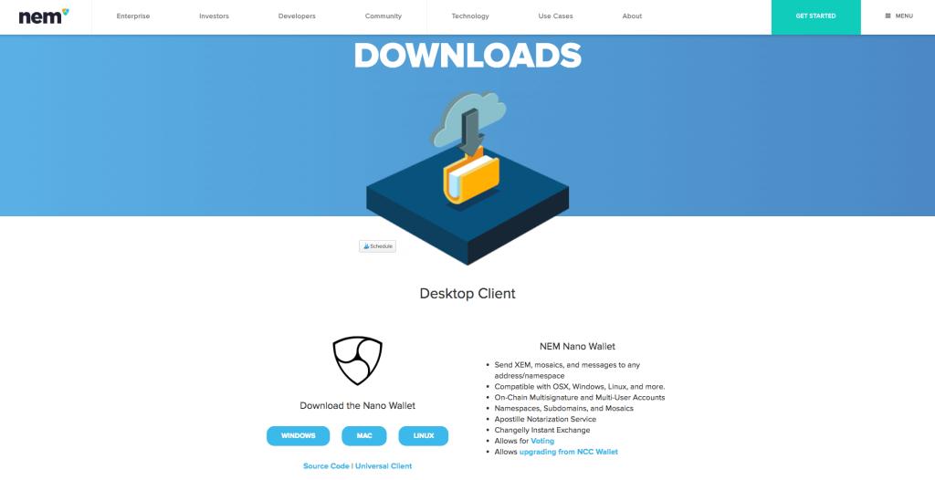 nem xem downloads mining guide