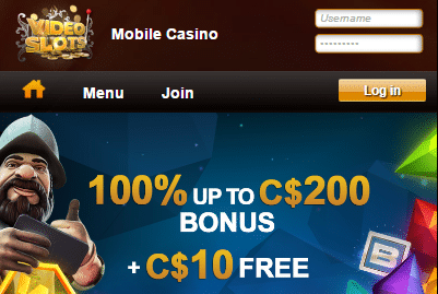 Videoslots Mobile Casino