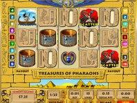 Treasures of Pharaohs Video Slot
