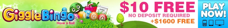 Get a $10 No Deposit Bonus at Giggle Bingo