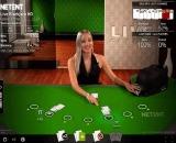 NetEnt Live Casino Blackjack Multi-Player Common Draw