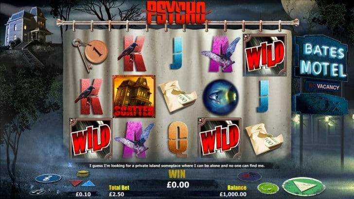 Psycho Slot at CasinoCruise