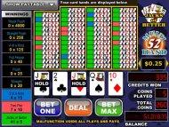 Jacks Or Better 52 Hands Cafe Casino