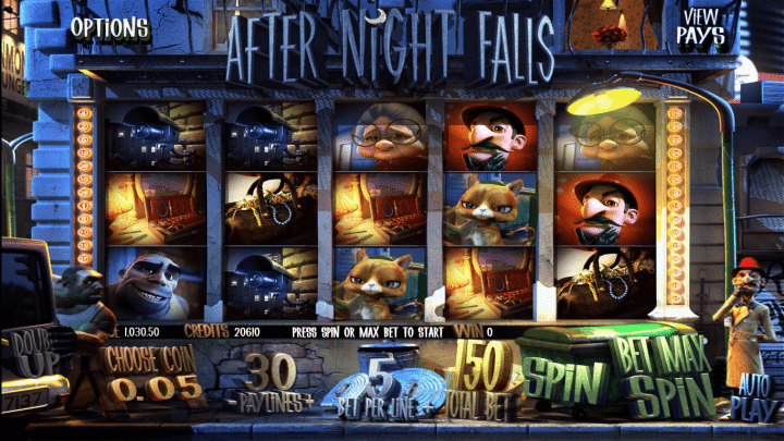 After Night Falls 3D Video Slot from Betsoft Gaming