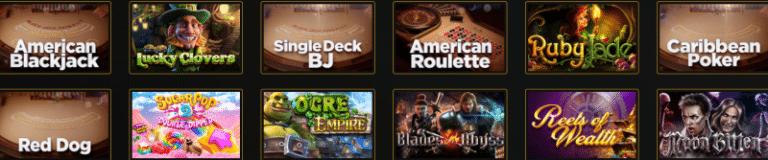 Favourite Games at Wild Casino