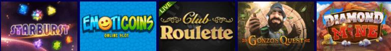 Jackpot21 Casino Games