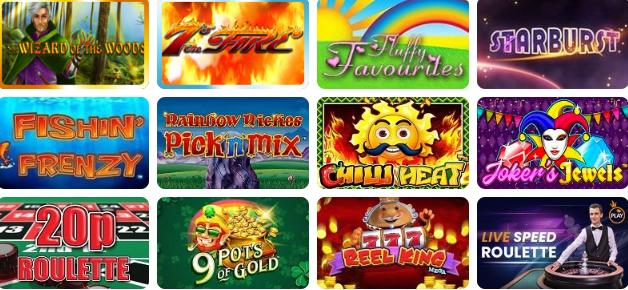 Popular Games at Olive Casino