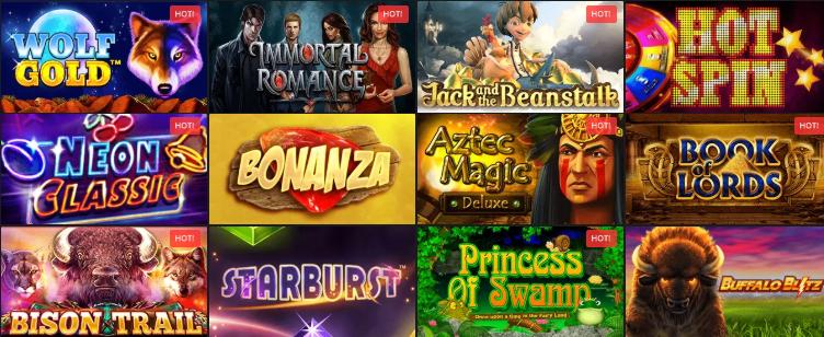Popular Golden Star Casino Slots