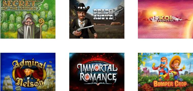 Popular Casino4Dreams Games