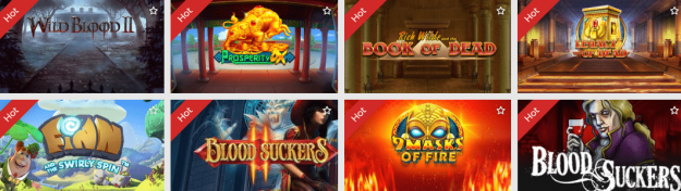 Popular Slots at SlottoJam Casino