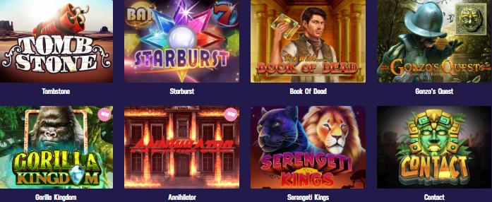 Popular Slots at Gambola Casino