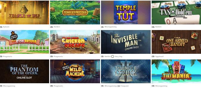 Popular Red Spins Casino Games