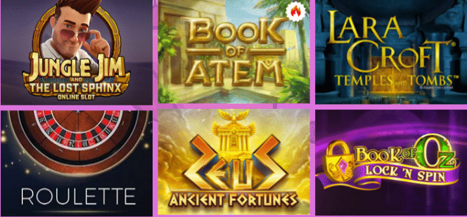 Popular BetRocker Casino Games