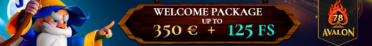 Get a €/$350 Welcome Bonus + 125 Free Spins at Avalon78 Casino