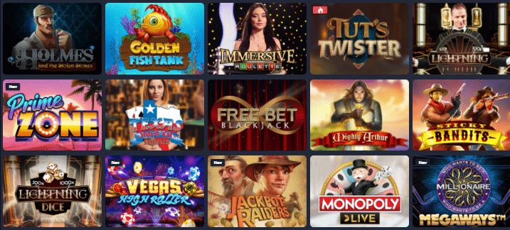 Popular Bettilt Casino Games