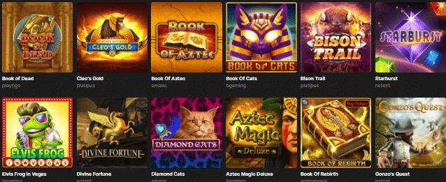 Popular Red PingWin Casino Games