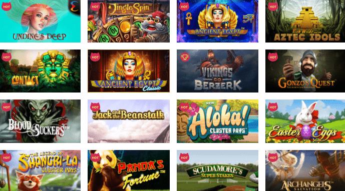 Popular Maneki Casino Games