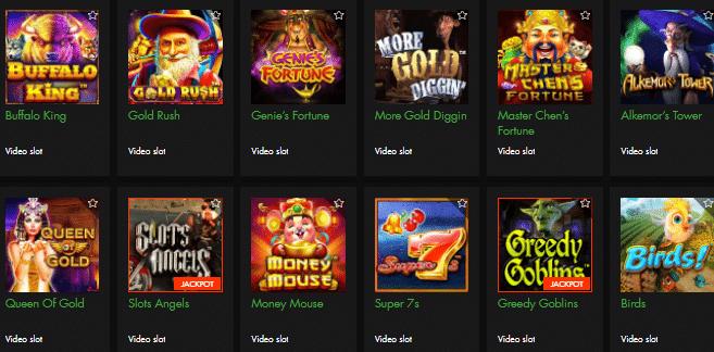 Popular Viva Mon Casino Games
