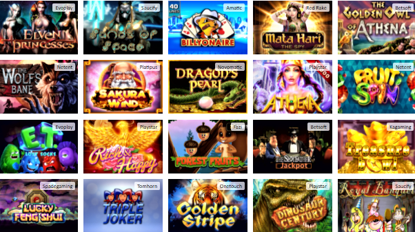 Popular Red Lion Casino Games