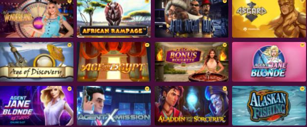 Popular SlotVibe Casino Games