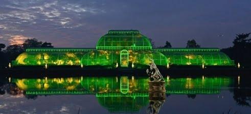 Christmas Kew Gardens