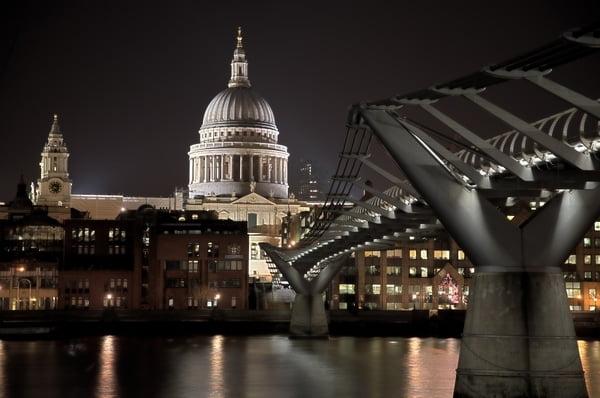 London legromantikusabb helyei