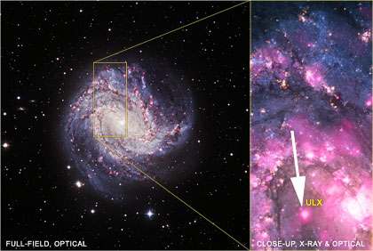M83 Galaxy, 15 million light-years away