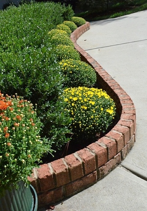 25 Garden Bed Borders, Edging Ideas for Vegetable and ... on Backyard Border Ideas  id=83474