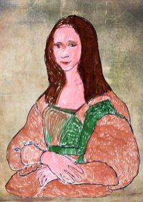La gioconda (Monna Lisa) – di Leonardo da Vinci 🍏 Ri-visto da Caterina
