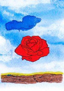 La rosa meditativa – di Salvador Dali 🍏 Ri-visto da Suor Rosetta